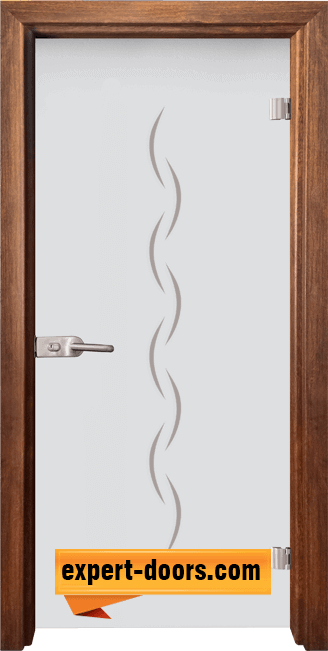 Стъклена интериорна врата Gravur G 13 1 Z 1