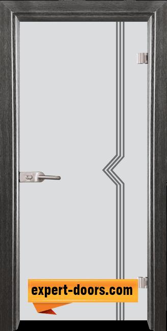 Стъклена интериорна врата Gravur G 13 3 G 1