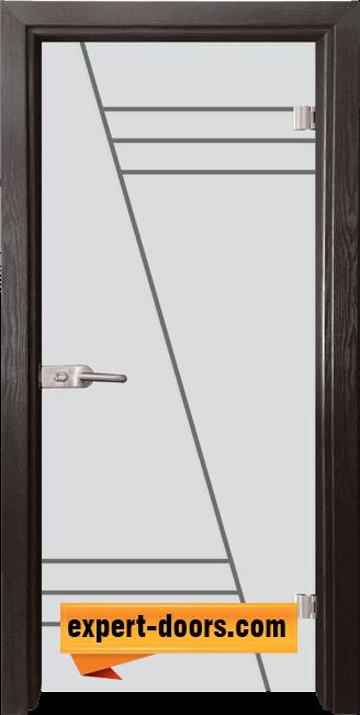 Стъклена интериорна врата Gravur G 13 4 X 1