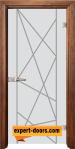 Стъклена интериорна врата Gravur G 13 5 Z 1