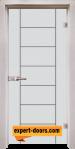 Стъклена интериорна врата Gravur G 13 6 D 1