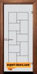 Стъклена интериорна врата Gravur G 13 7 Z 1