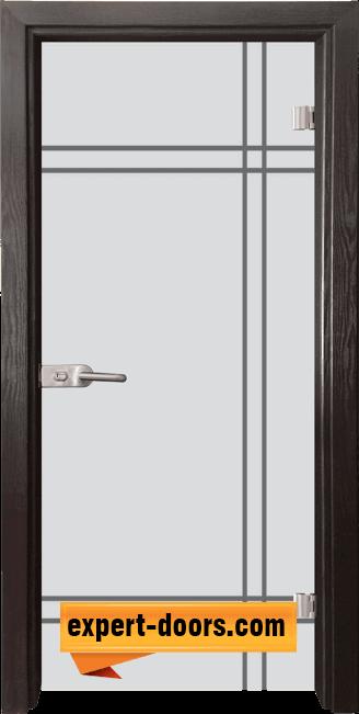 Стъклена интериорна врата Gravur G 13 8 X 1