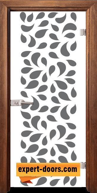 Стъклена интериорна врата Print G 13 1 Z 1