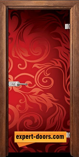 Стъклена интериорна врата Print G 13 11 Z 1