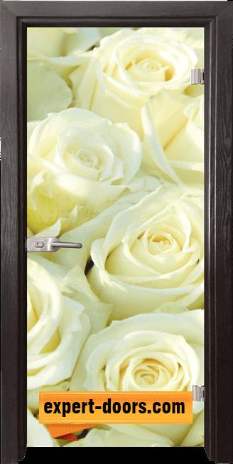Стъклена интериорна врата Print G 13 6 Z 1