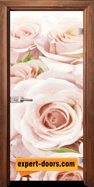 Стъклена интериорна врата Print G 13 7 Z 1