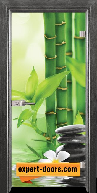 Стъклена интериорна врата Print G 13 9 G 1
