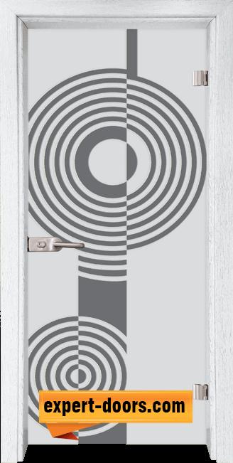 Стъклена интериорна врата Sand G 14 6 Y 1