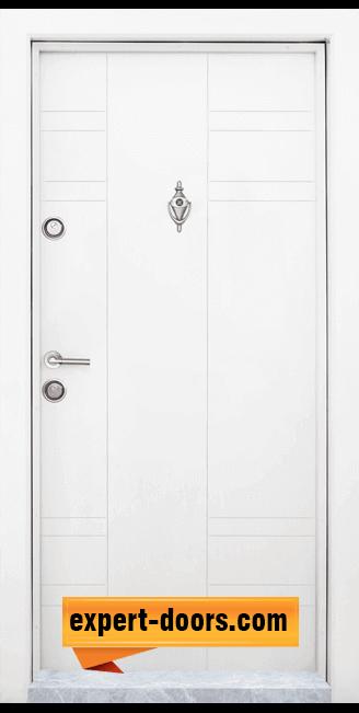 Блиндирана входна врата модел T 598 W 1