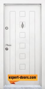 Блиндирана входна врата модел T 712 W