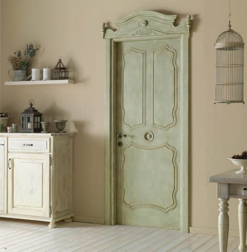 Интериорна врата в Провансалски стил